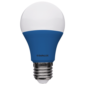 Bulbo LED Color 10W Bivolt Azul E27 – AL10313