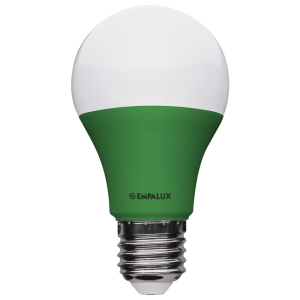 Lâmpada Bulbo LED Color 10W Bivolt Verde E27 – AL10318