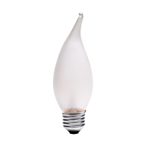 Incandescente Vela Chama 40W 220V 2.700K  E27 -IF24027