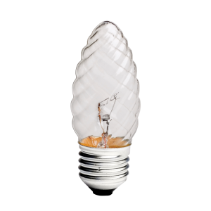 Incandescente Vela Torcida 40W 2.700K  E27 – IS24024  (Clara)